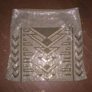Aztec skirt beaded